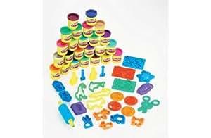 Playdoh Super Rainbow Value Pack 20 colours plus 20 accessories