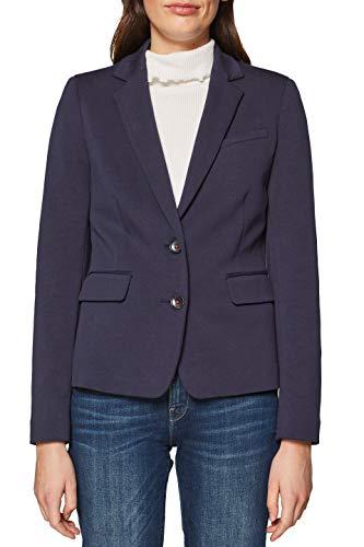 ESPRIT Damen Anzugjacke 128EE1G013 Blau