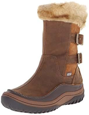 Merrell Decora Chant Waterproof, Women's Zip Snow Boots - Brown (Brown Sugar), 3.5 UK