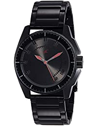 Fastrack Black Magic Analog Black Dial Men's Watch -NK3089NM01