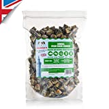 Skippers Dog Treats Natural - Jerky Skin Fish For Dogs Chews 100% Healthy, Grain Free & Low Fat - BULK VALUE (Small, 1kg)