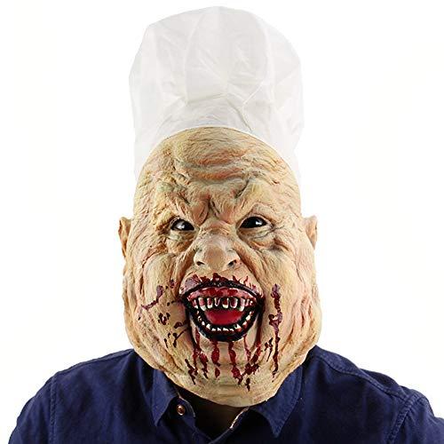 rror Maske Verwesender Maske Latex Maske Karneval Maske Halloween Maske Gruselige Maske Zombie Cosplay Kostüm Maske Fastnacht Party One Size ()