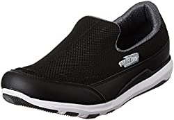 Force 10 (from Liberty) Mens Black Running Shoes - 7 UK/India (41 EU)