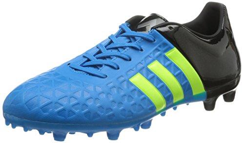 adidas Control FG/AG Herren Fußballschuhe Blau (Solar Blue2 S14/Solar Yellow/Core Black)