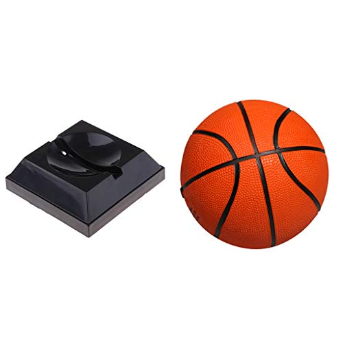 FLAMEER Ballständer Hält Basketball Fußball Rugby Volleyball Rugby Bowling Display Halter Mit Mini Kind Basketball - Bowling Halter Ball