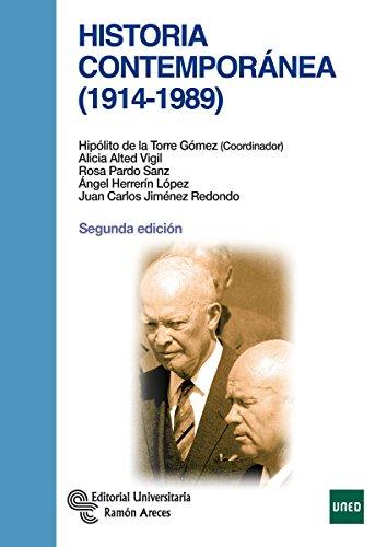 Historia contemporánea (1914 -1989) (Manuales)