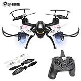 EACHINE E33C Drone avec caméra Anti-Choc Drone télécommandé Quadcopter RC Helicoptère Télécommandé avec Les Fonction Mode sans Tête, Retour à Une Touche, 360°Flips pour Les Débutants et Les Enfants