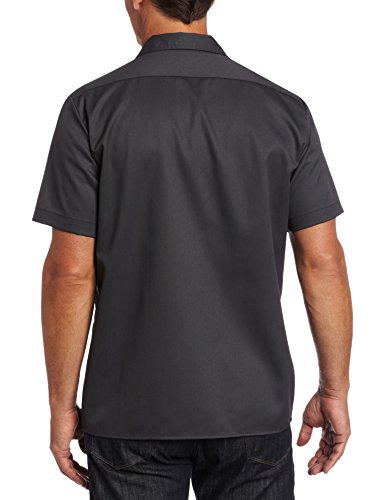 Dickies Short Sleeve Slim - Chemise casual - coupe cintrée - Manches courtes - Femme Gris (Charcoal Grey)