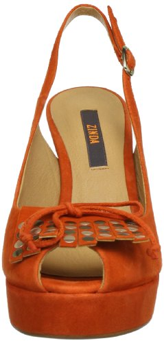 Zinda 9122 Damen Pumps Braun (Zafrón)