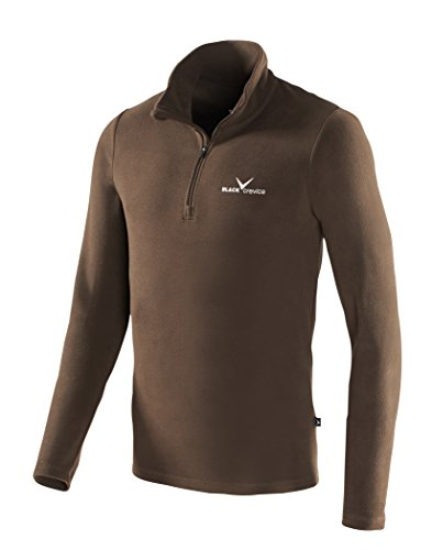 Black Crevice Herren Fleece Skirolli Skirolli Skirolli, Braun (Brown - brown), M (Herstellergröße: 50) -