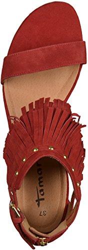 Tamaris 1-28189-36 femmes Sandale rouge foncé