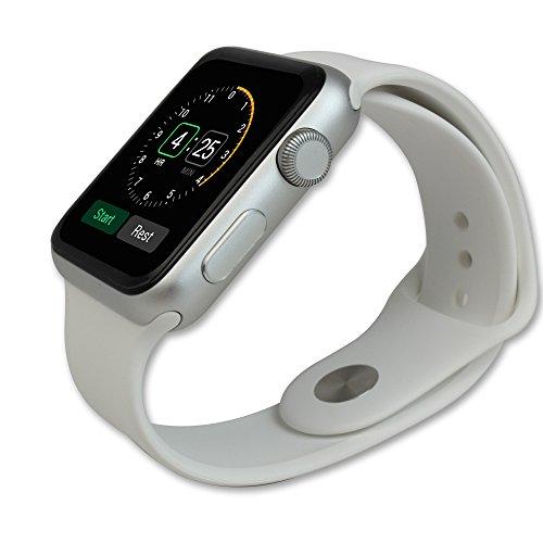 Skinomi, SK18680 TechSkin, Schutzfolie für Apple Watch und Apple Watch Series 3, wasserdicht, (42 mm) 6er Pack - 2