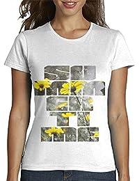 latostadora - Camiseta Summertime Byn para Mujer