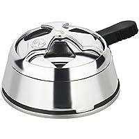 Paide - Regulador de calor para carbón de cachimba narguile shisha hookah accesorio shisha aleacion de aluminio