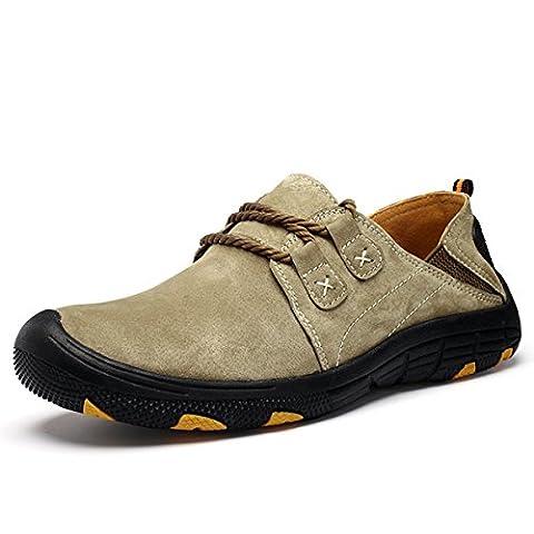 CHAUSSURES Randonée Basse pour Homme Femme, Gracosy Multisport Outdoor Sneaker Chassures de Training Suède Chaussures de course Randonée en montagne 38 - 44 (Tableau de poiture à voir)