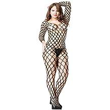 Abbigliamento E Accessori Bodystocking Catsuit Body Sexy Lingerie Intimo Tutina Da Donna Aperto Reggicalze