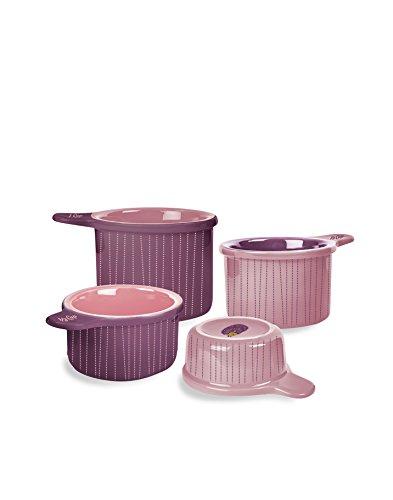 Kitsch 'n Glam 4Messbecher Set, Keramik Igel Thema Geschenke Für 10 Dollar Oder Weniger