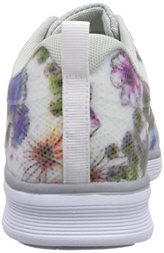 KangaROOS K- Light 8003, Unisex-Erwachsene Sneakers Weiß (white with flower print 094)