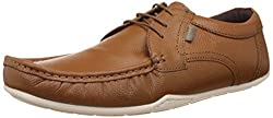 Red Tape Mens Tan Leather Formal Shoes - 7 UK/India (41 EU)