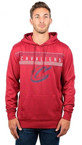 NBA Herren Fleece Hoodie Pullover Sweatshirt Poly Midtown, Herren, Midtown Hoodie,GHM1461F-CC-2XLarge, Braun, XX-Large -
