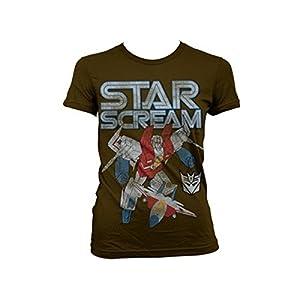 Transformers - T-shirt - Manches Courtes - Femme -  marron - XX-Large
