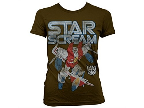 Transformers - T-shirt - Manches Courtes - Femme -  marron - Medium