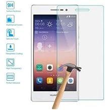 Protector de Pantalla Cristal Templado Vidrio 9H Premium para Huawei Ascend P7