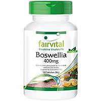 Boswellia Weihrauch 400mg, Boswellia serrata, indischer Weihrauch, mind. 65% Boswelliasäuren, vegan, 120 Boswellia-Tabletten preisvergleich bei billige-tabletten.eu