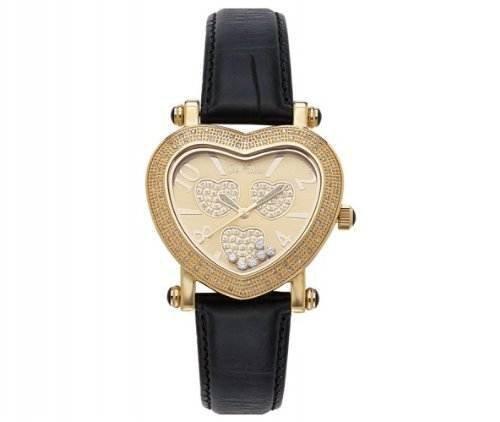 Joe Rodeo Women's JH4 Moving Heart 0.75ct Diamond watch