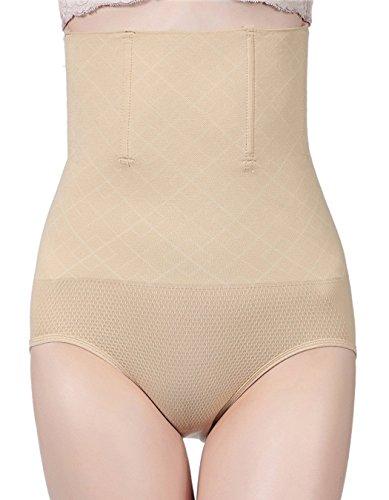 Foto de AMAGGIGO Shapewear - Braga Faja Reductora y Moldeadora Invisible para Mujer (M/L 1= S (Fits Waist 24-27 inch), Beige-A)