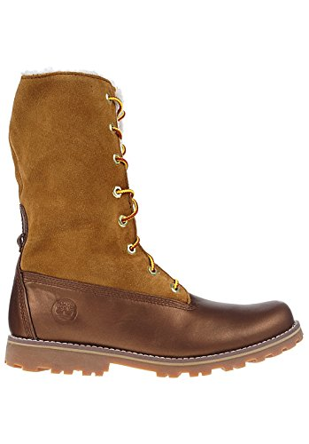 Bottes Dhiver Auth Teddy Fleece Ca1a4u Espresso Brown Timberland Femmes