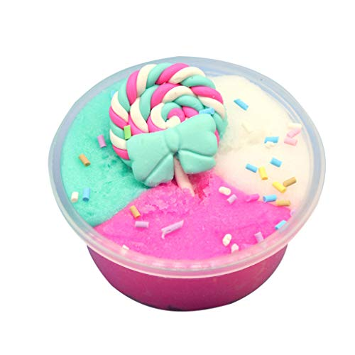 Sulifor Clay Toy, 60ml Mixed Color DIY Candy mud Muddy Pressure Relief Clay Toy