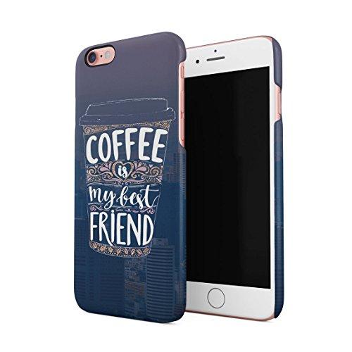 Coffee Is My Drug Dünne Rückschale aus Hartplastik für iPhone 6 Plus & iPhone 6s Plus Handy Hülle Schutzhülle Slim Fit Case cover Coffee My Friend