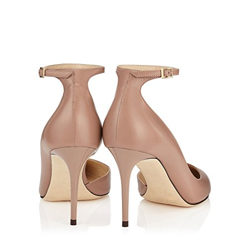 Amy Q , Mary Janes pour femme Nude