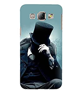 PrintVisa Cool Boy 3D Hard Polycarbonate Designer Back Case Cover for Samsung Galaxy A8