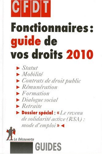 Fonctionnaires : guide de vos droits