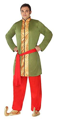 Hindou Kostüm - ATOSA 5007 Karnevalskostüm, Mehrfarbig, M