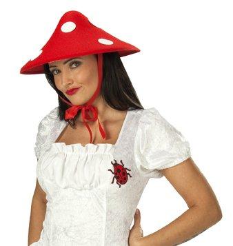 Hut Glückspilz Glückspils Hut Pilzhut Pilz (Glückspilz Kostüm)