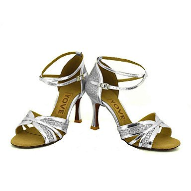 Ruhe @ Damen Beruf Dance Schuhe Gold
