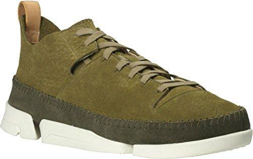 Clarks 26107366, Herren Sneaker weiß White Leather