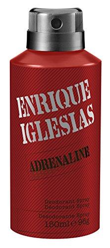 Enrique Iglesias Adrenaline Deo Body Spray 150 ml, 1er Pack (1 x 150 ml) -