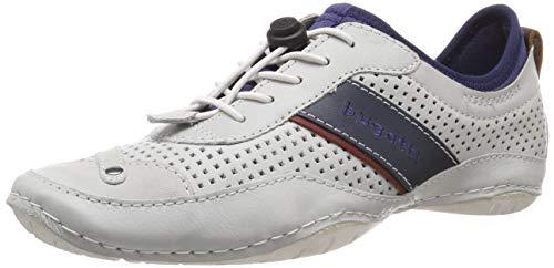 bugatti Herren 321477601000 Slip On Sneaker, Weiß (Offwhite 2100), 45 EU