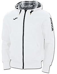 Joma Invictus - Sudadera para hombre, color blanco / negro, talla XL