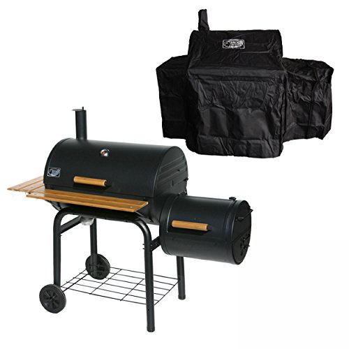 BBQ-Scout KS0415 BBQ-Grill Grill´n Smoke Smoking Classic Grill & Smoker + Abdeckung