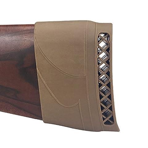 Tourbon Jagdschießen Gewehrkolben Stock Recoil Pad (braun) (Tontaubenschießen Guns)