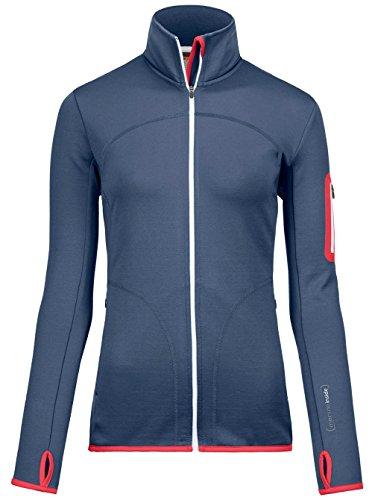 Ortovox Damen Fleece Jacke, Night Blue, L
