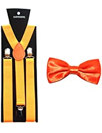 Suspenders & Matching Bow Ties – Variety of Colours Available