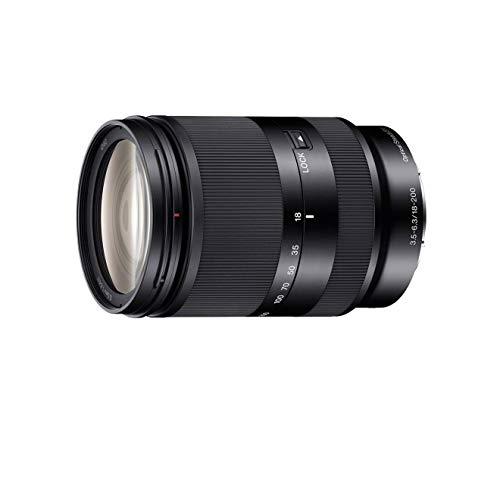 Sony SEL18200LE Obiettivo con zoom da 18-200 mm F3,5-6,3, APS-C, stabilizzatore ottico,  Innesto E, Nero