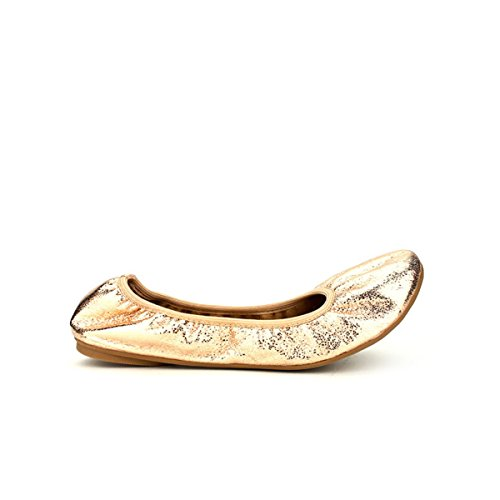 Cendriyon, Ballerine Champagne paillettes CINKY LOOK sac bourse Chaussures Femme Bronze