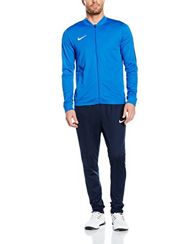 Nike Herren Academy 16 Knit Trainingsanzug - Blau (Royal Blue/Obsidian/White) , M Royal Metall